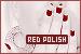 Red Nail Polish: